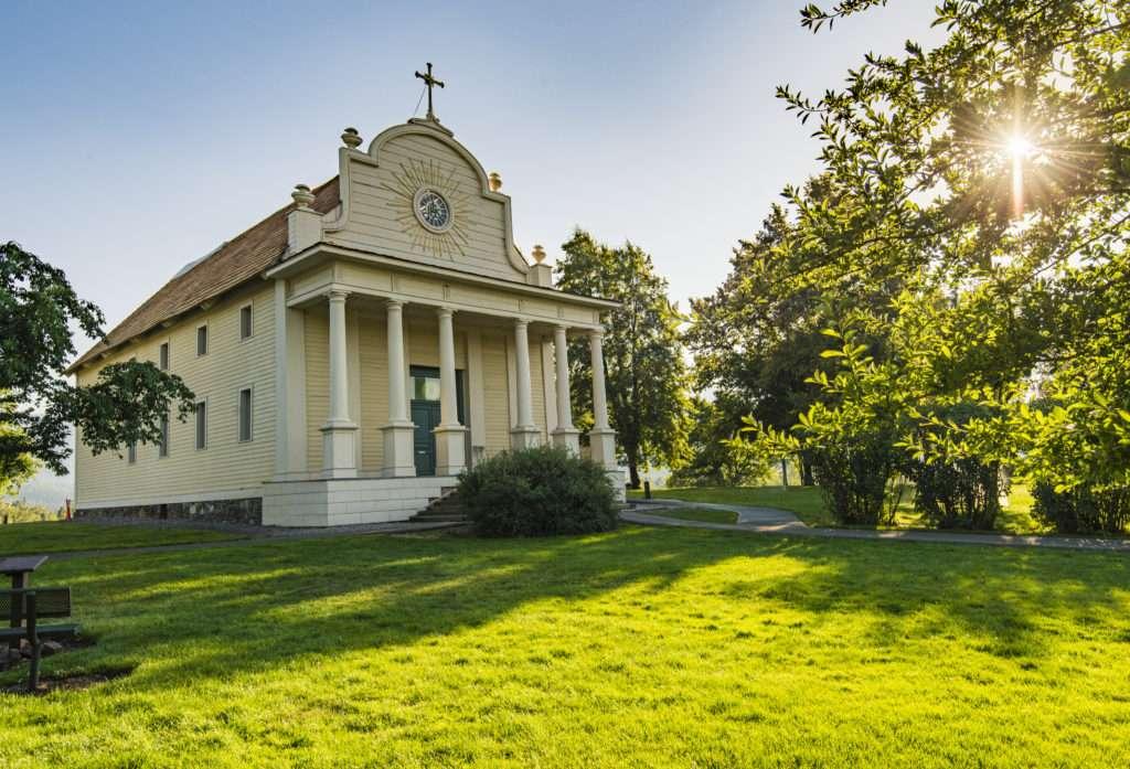 cataldo mission- history lives in Idaho