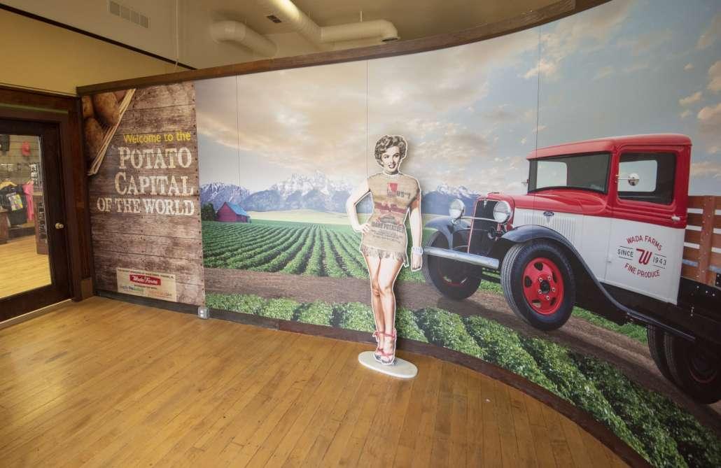 Idaho Potato Museum Marilyn Monroe history